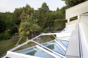 Przeciwsłoneczne żaluzje do ogrodu zimowego, Sunroom