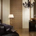 Płytki ceramiczne Nova Bell, złote dekory 20x60 cm