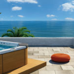Basen Jacuzzi® Italian Design Santorini Pro 230x215x90 5-osobowy