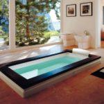 Wanna bez hydromasażu Aura Uno Design Jacuzzi® 180x90x66 H cm
