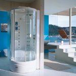 Kabina natryskowa Flexa Tower Jacuzzi® 90x90x220/232 H cm
