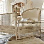 Savio Firmino, Sypialnia dla niemowląt. Łóżko ze szczebelkami,szafka na zabawki, lampa, fotelik na biegunach