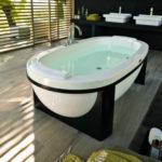 Wanna bez hydromasażu Anima Design Jacuzzi® 190x100x60 H cm