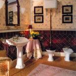 Devon&Devon, kolekcja Oxford, umywalka na nodze, WC z górnopłukiem, bidet