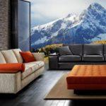 Trzyosobowe kanapy cechujące się ramą z twardego drewna, dużym wyborem tkanin, oraz wygodą. 90 x 275 x 110 cm. Duresta, Mondrian.