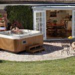 Basen ogrodowy dla 6 osób z jedną leżanką - Jacuzzi® J-355