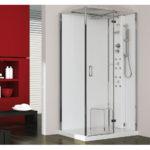 Kabina prysznicowa z hydromasażem, łaźnią parową i hydromasażem - Jacuzzi® Play