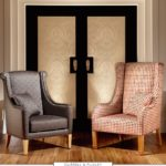 Klasyczne duże fotele Duresta Domus Durrell & Puxly