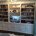 Biblioteka, regał na książki, robiony na wymiar