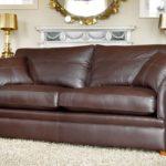 Skórzana kanapa z poduszkami, Duresta Garrick