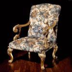 Fotel retro, wykonany ręcznie, Duresta Gustav