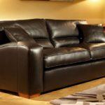 Wygodna skórzana sofa Duresta Panther