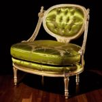 Ekskluzywny duży fotel klasyczny Duresta Romanov