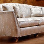 Elegancka kanapa z najwyższej jakości tkanin Duresta Ruskin