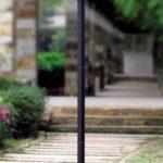 Lampa ogrodowa ITALUX, szkło, H 214 cm dł 55 cm