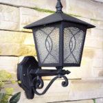 Lampa ogrodowa ITALUX, szkło, H 37 cm dł 25,5 cm
