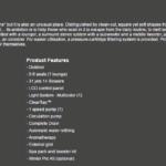 Dane techniczne Jacuzzi® Profile