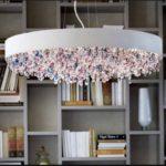 Lampa wisząca MASIERO, H 20 cm Ø 90 cm