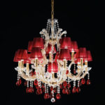 Lampa wisząca MASIERO, H 170 cm, Ø 190 cm