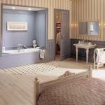 pokój kąpielowy - dywan z mozaiki Winckelmans