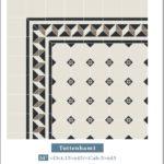 Mozaika wiktoriańska biało-czarna Winckelmans Tottenham 1