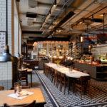 Płytki wiktoriańskie w restauracji der Elefant w Warszawie
