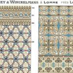 Winckelmans – mozaika kamionkowa. Kompozycje z katalogu z 1934 roku - jedne z wielu ciekawych rozwiązań