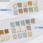 Winckelmans – mozaika kamionkowa - Kolory