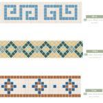 Winckelmans – mozaika kamionkowa - kompozycje (jedne z wielu możliwych)