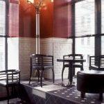 Bar w Moskwie - mozaika z płytek kamionkowych Winckelmans