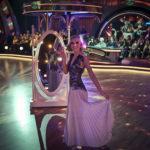 Lustro psyche w Tańcu z gwiazdami z udziałem Joanny Moro. DANCING WITH THE STARS
