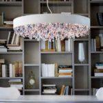 Masiero, lampa wisząca Ola, kolorowe kryształki, śr. 60 cm