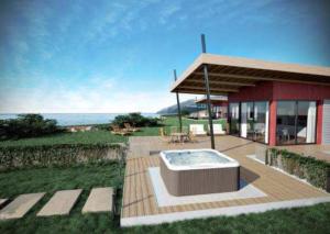 Mini Basen SPA Lodge Jacuzzi ® wersja wolnostojąca