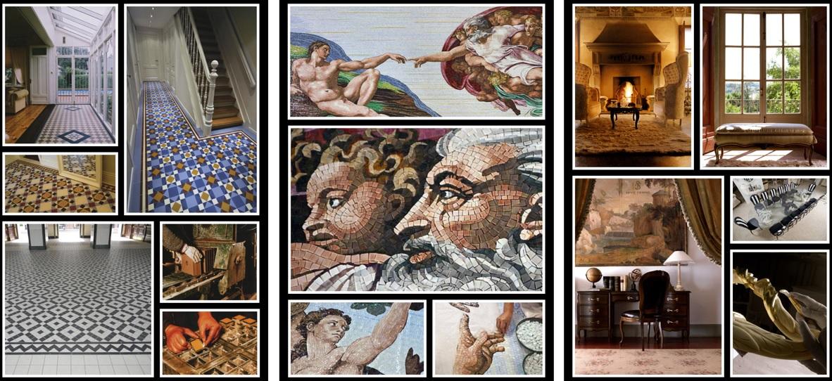podziekowanie - zaproszenie - tryptyk mozaiki meble plytki vi.2015