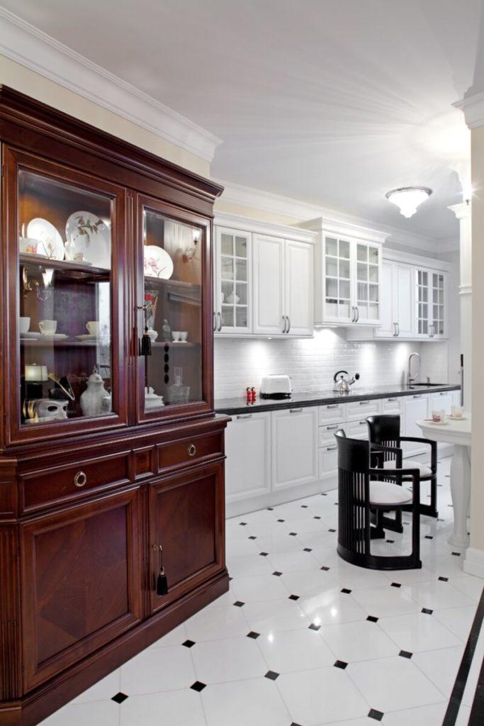 Stylowa kuchnia - aranżacja wnętrza