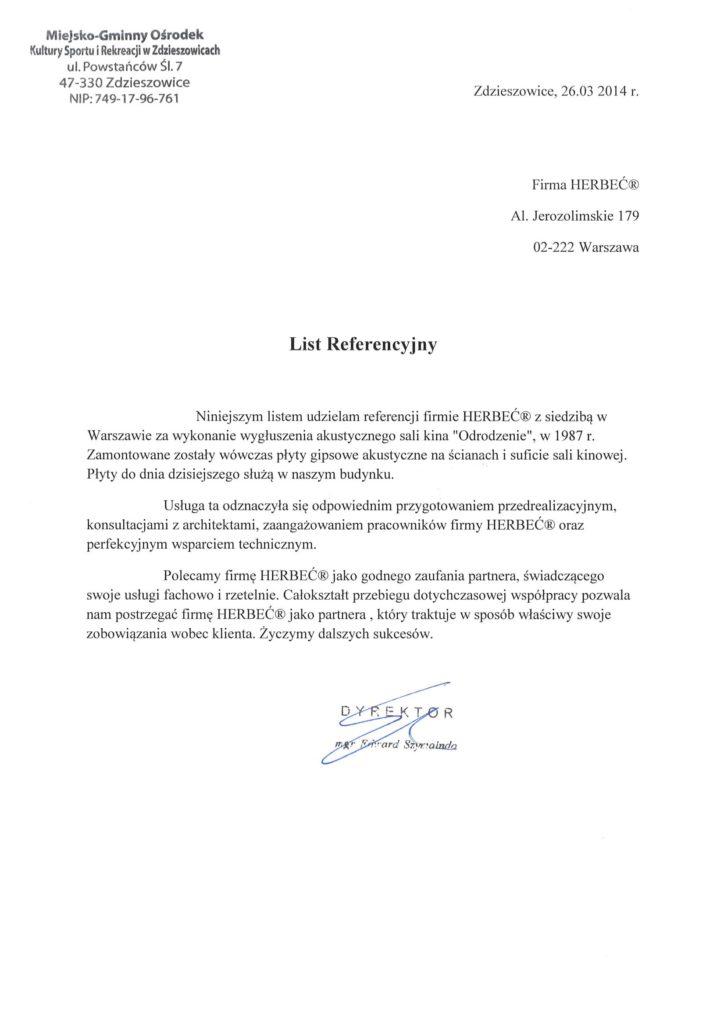 M-GOKSiR Miejsko-Gminny Ośrodek Kultury Sportu i Rekreacji. Zdzieszowice