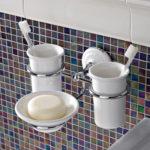 zestaw akcesoriów umywalkowych Calla