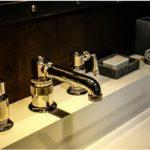 """WATERWORKS by THG, """"R.W. ATLAS"""". 3-otworowa bateria umywalkowa z wysoką wylewką"""