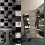 Kolekcja Fornasettiana 01, zestaw 12 szt płytek, format 20x20 cm