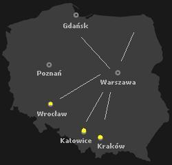 mapka-krako-katowice-wroclaw