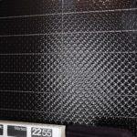oryginalny wzór faktury czarnej płytki z kolekcji Lounge