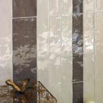 piękne świetlne refleksy na powierzchni płytki z kolekcji Natura to sposób na wspaniałą łazienkę