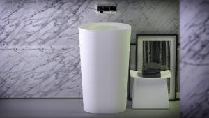 KniefCo - umywalka z kolekcji Glow