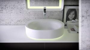 KniefCo - umywalka z kolekcji Moon