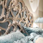 eleganckie, ręcznie zdobione meble do sypialni