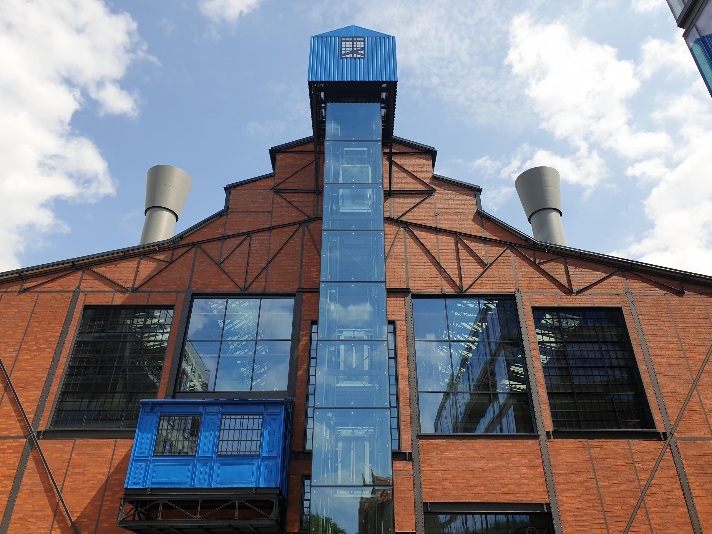 Elektrownia, biurowiec, Powiśle, Warszawa