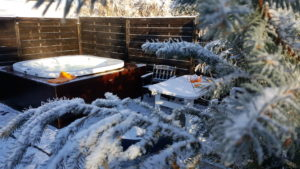 Zimowe ogrody kąpielowe
