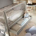 Savio Firmino® łóżeczko dziecięce ze schowkiem
