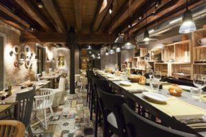 Lastrico w restauracjach