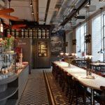 Płytki podłogowe mrozoodporne do restauracji - der Elefant w Warszawie